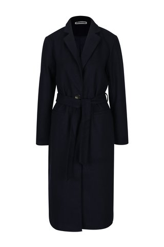 Palton bleumarin cu cordon Noisy May Minna
