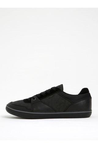 Pantofi sport negri din piele Geox Box A