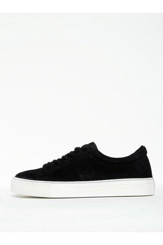 Pantofi sport negri din piele naturala intoarsa pentru femei - Royal RepubliQ