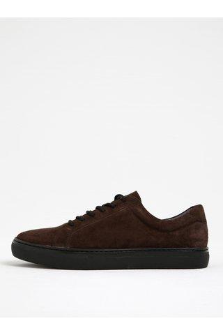 Pantofi sport maro din piele intoarsa pentru barbati Vagabond Paul