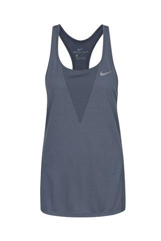 Top albastru cu perforatii pentru femei Nike