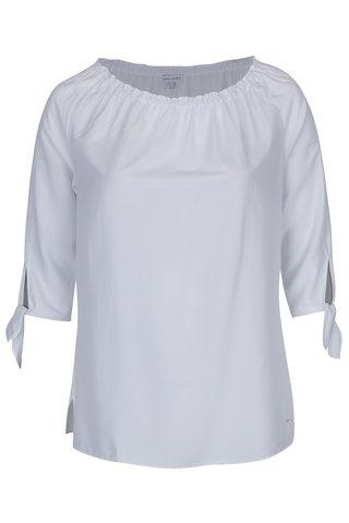 Bluza alba cu decolteu pe umeri -  Gina Laura