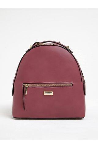 Růžový batoh s detaily ve zlaté barvě Gionni Colette