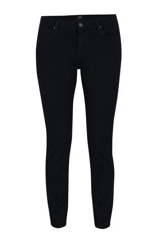 Tmavě modré dámské zkrácené skinny fit džíny Lee Scarlett