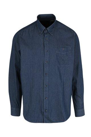 Camasa albastra cu buline pentru barbati JP 1880