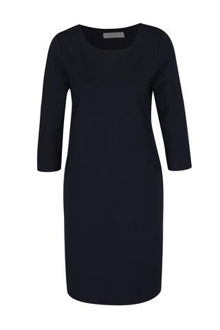Tmavě modré šaty s pruhem na zádech VILA Miracles