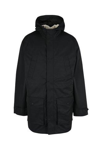 Geaca neagra impermeabila cu vesta detasabila 2 in 1 Original Penguin
