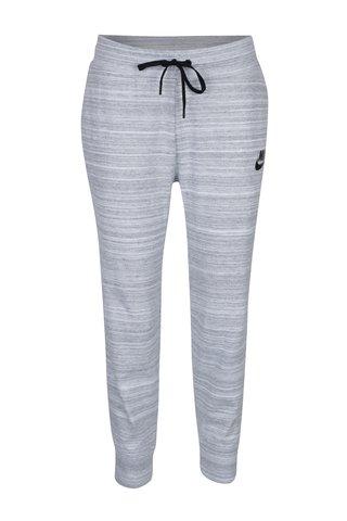 Pantaloni sport gri melanj pentru femei Nike Sportswear Advance 15