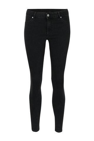 Tmavě šedé dámské skinny džíny Cheap Monday