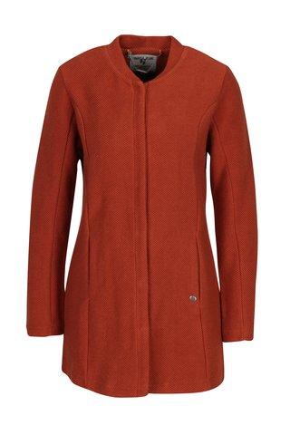 Palton subitre portocaliu pentru femei  - Garcia Jeans