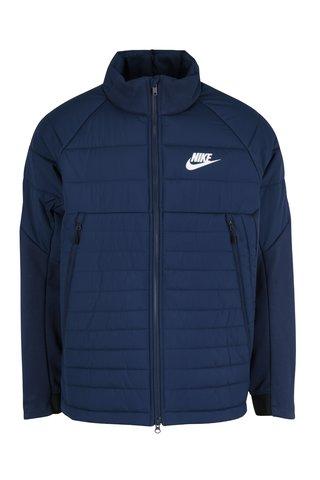 Geaca albastra matlasata pentru toamna/iarna pentru barbati Nike Sportswear Fill