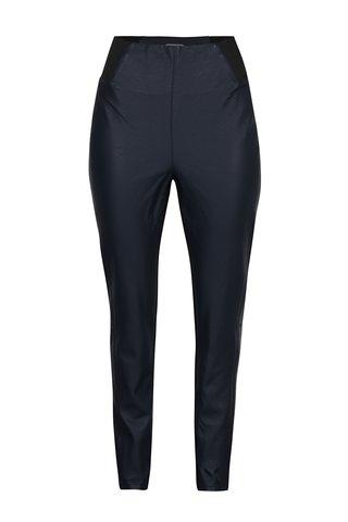 Leggings bleumarin cu talie inalta Garcia jeans