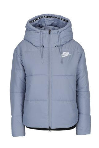 Geaca matlasata albastru deschis pentru femei Nike Sportswear Fill