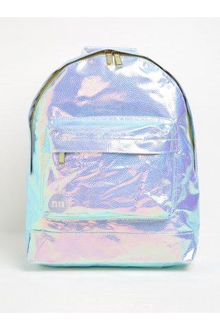 Světle fialový dámský holografický batoh Mi-Pac Pebbled 17 l