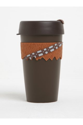 Cana maro de calatorie cu tematica  Star Wars KeepCup Chewbacca Original Large