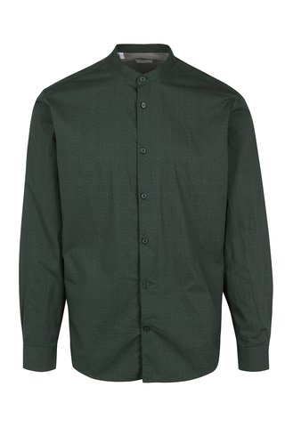 Camasa verde slim fit Selected Homme Done Cole