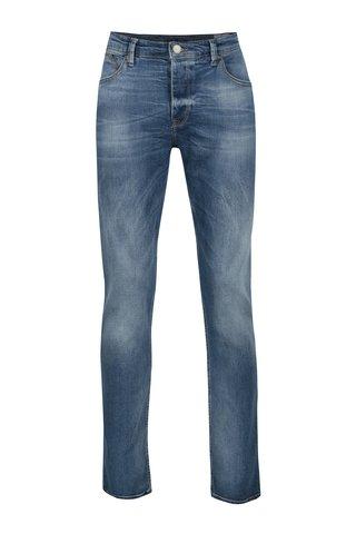 Blugi albastri cu aspect decolorat Cross Jeans