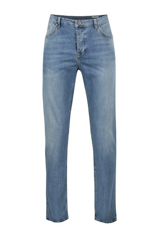 Blugi albastri regular tapered fit Cross Jeans