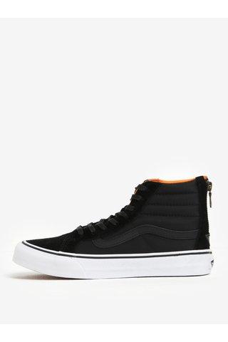 Pantofi sport inalti din piele si textil pentru femei -  VANS SK8-Hi