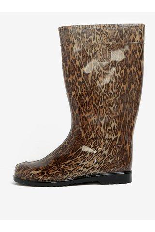 Cizme de ploaie cu print leopard - Oldcom Rain