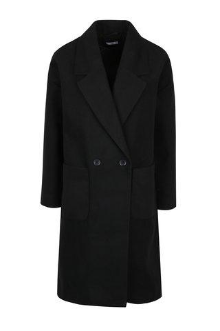 Černý dlouhý kabát Jacqueline de Yong Kelly