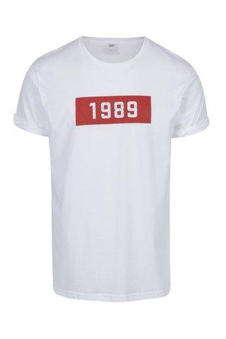 Tricou alb cu print pentru barbati ZOOT Original 1989