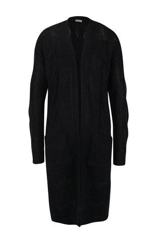 Cardigan negru cu buzunare Noisy May Wilba