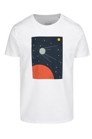 Tricou alb cu print ZOOT Original Sputnik
