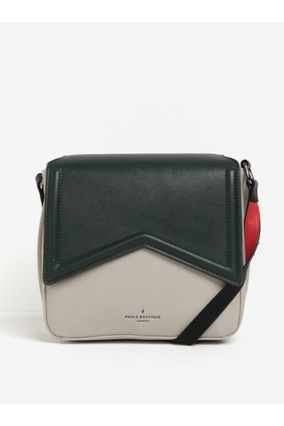 Geanta crossbody bej&verde inchis  Paul's Boutique Abi