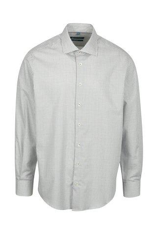 Krémová vzorovaná regular fit košile Braiconf Nicoara
