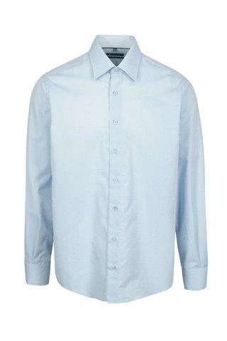 Světle modrá vzorovaná formální regular fit košile Braiconf Ion