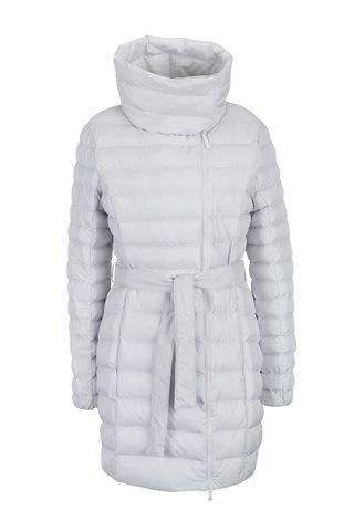 Bílý voděodpudivý prošívaný dámský kabát LOAP Ikona
