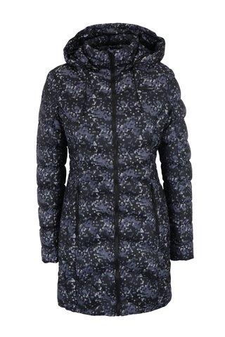 Šedý dámský voděodpudivý prošívaný kabát se vzorem LOAP Icrena