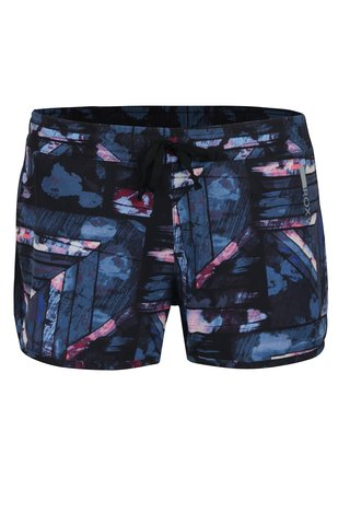 Pantaloni scurti functionali albastri cu print abstract -  Roxy All in Time