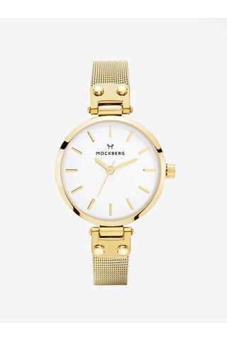 Dámské hodinky ve zlaté barvě s nerezovým páskem MOCKBERG Livia Petite