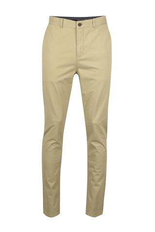 Béžové chino kalhoty SUIT Frank