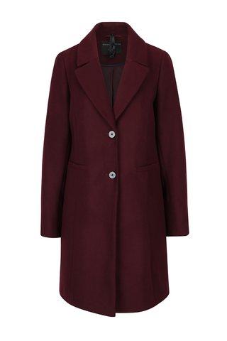 Palton bordo cu buzunare Dorothy Perkins
