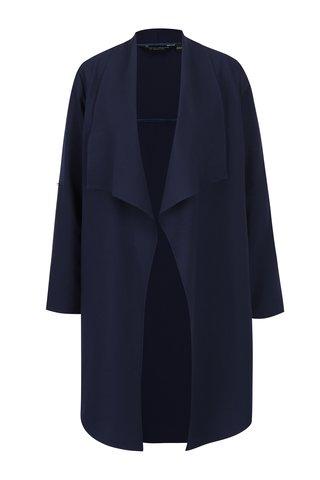 Blazer bleumarin lung si drapat - Dorothy Perkins
