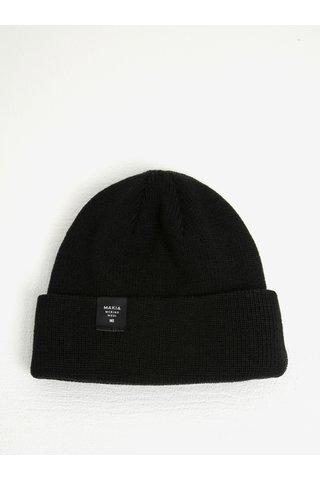 Černá pánská čepice z Merino vlny Makia Merino