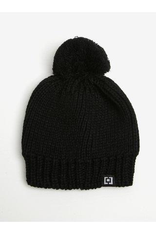 Caciula neagra tricotata cu pompom -  Horsefeathers Alexa