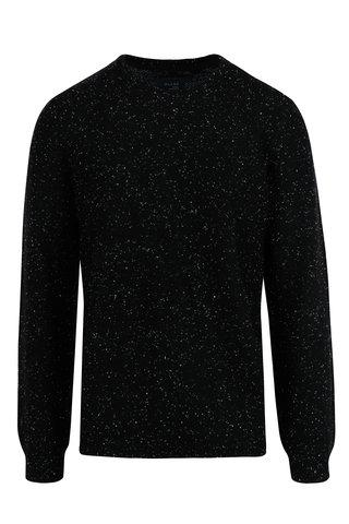 Pulover negru slim fit pentru barbati - Blend