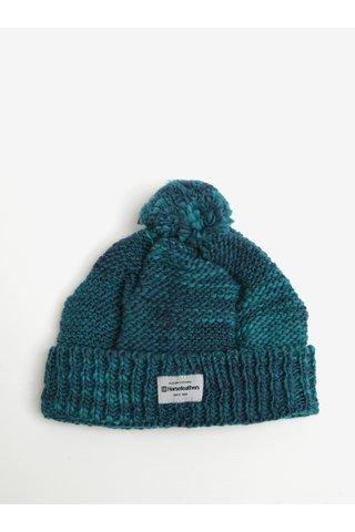 Caciula tricotata verde cu amestec de lana -  Horsefeathers Tania