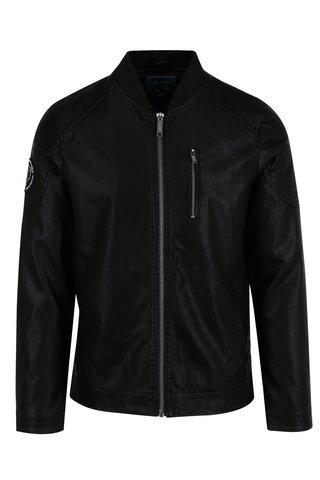 Jacheta bomber neagra pentru barbati - Blend