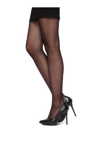 Černé síťované punčochové kalhoty Oroblu Tulle
