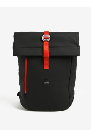 Rucsac negru Acme Made North Point Medium Roll-Top Backpack