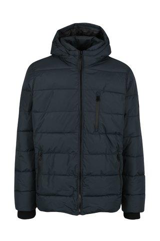 Geaca matlasata bleumarin cu gluga pentru barbati - Burton Menswear London