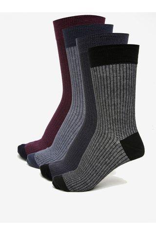 Set de 3 perechi de sosete multicolore - Burton Menswear London