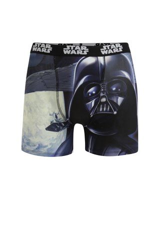 Boxeri bleumarin cu print pentru barbati Star Wars