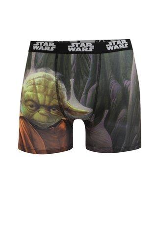 Boxeri negru & verde cu print pentru barbati Star Wars