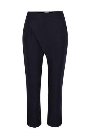 Pantaloni bleumarin cu croi suprapus Skunkfunk